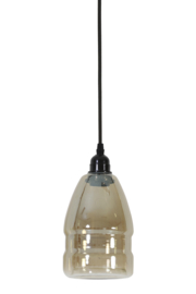 Hanglamp smoked glass