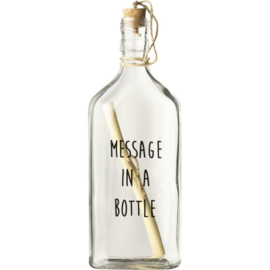 Flessenpost 'Message in a bottle'