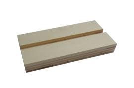 Houten standaard t.b.v. prints op hout, 15cm