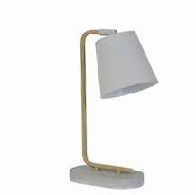 Tafellamp Salaun, beton/hout