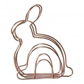 Magazinehouder Bunny koper