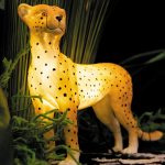 Kids Table Lamp Leopard