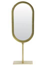 Tafelspiegel oval gold, 45cm