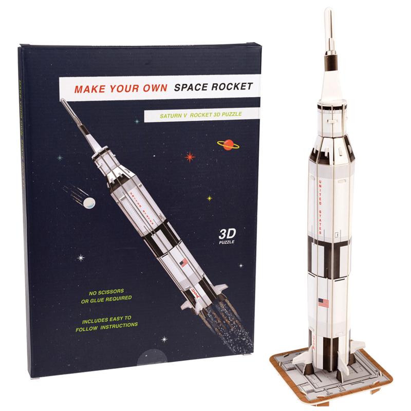 3D Puzzle Rocket Power