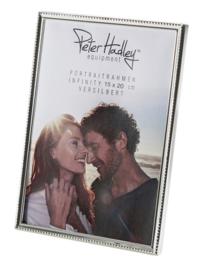 Peter Hadley Infinity 15x20 zilver plated lijst
