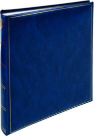 Fotoalbum BASICLINE Blauw met Zwarte bladen