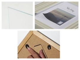 Peter Hadley Sassari 13x18  houten fotolijst antraciet
