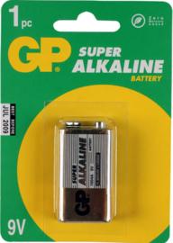 GP Alkaline batterij 9v 6LR61