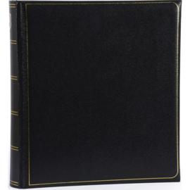 """Fotoalbum """"memory"""" Zwart met witte bladzijden . 280 mm x 305 mm"""