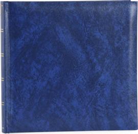 Fotoalbum BASICLINE blauw met witte bladen