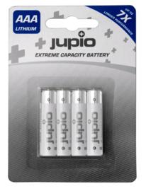 AAA Lithium Batterijen 4 st. Jupio