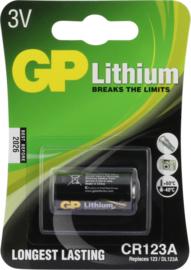 GP Lithium batterij CR123A 3V