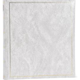 "Fotoalbum ""Basic Line"" Wit  70 blz  28 x 30,5  Zwarte bladen"