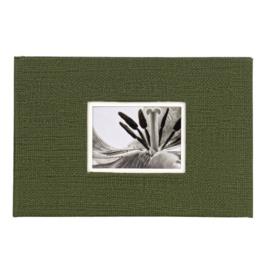 UniTex- Dorr  Insteek foto Album Hardekaft 40 10x15 cm groen