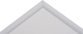 Portofino Aluminium 30x40 zilver