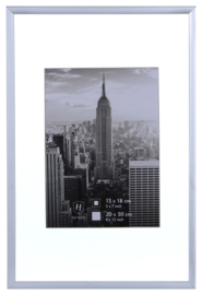 Manhattan 30x45 zilver