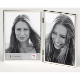 Chloe 2 luik 13x18 zilver
