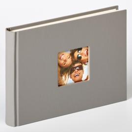 """Fotoboek """"Fun"""" 22 x 16 cm, grijs 40 blz."""