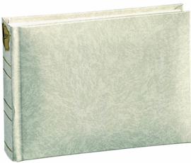 Fotoalbum BASICLINE Wit met witte bladen