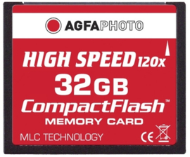 AgfaPhoto 32 GB CompactFlash-Card HighSpeed (