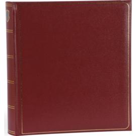 """Fotoalbum """"memory"""" Rood met witte bladzijden . 280 mm x 305 mm"""