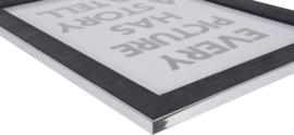 Silverline 15x20 zwart