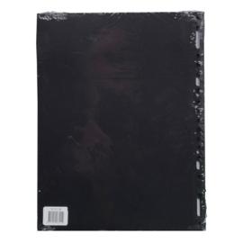 Fotobladen 20 st. zwart