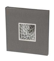 UniTex-Dorr Gebonden foto Album 23x24 cm grijs