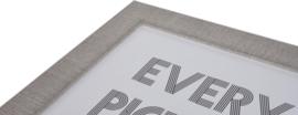 Silverline 13x18 grijs