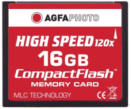 AgfaPhoto 16 GB CompactFlash-kaart HighSpeed (MLC)