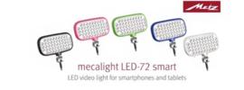 Metz Mecalight LED Video lamp voor Smartphone en Tablet  WIT