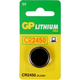 GP Lithium batterij 3v CR 2450