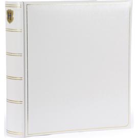 """Fotoalbum """"memory"""" wit met witte bladzijden . 280 mm x 305 mm"""