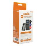 Jupio USB Accu lader voor Sony, Samsung en JVC