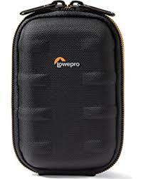 Lowepro compact camera tas Santiago 20 ll Zwart-oranje