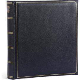 """Fotoalbum """"memory"""" blauw met witte bladzijden . 280 mm x 305 mm"""