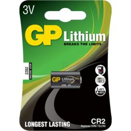 GP Lithium batterij 3V CR2
