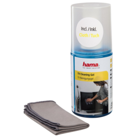 Hama TV Cleaning Gel, 200 ml, cloth included