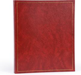 Fotoalbum     BASICLINE Rood met witte bladen