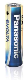 Panasonic Alkaline batterijen 1,5v LR6 (2 pack) AA