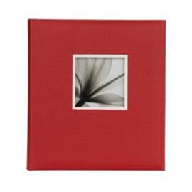 UniTex Dorr Jumbo foto  album 29x32 voor 600 foto's  Rood