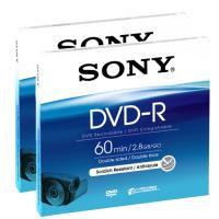 Sony DVD-R 60min/2.8GB/GO