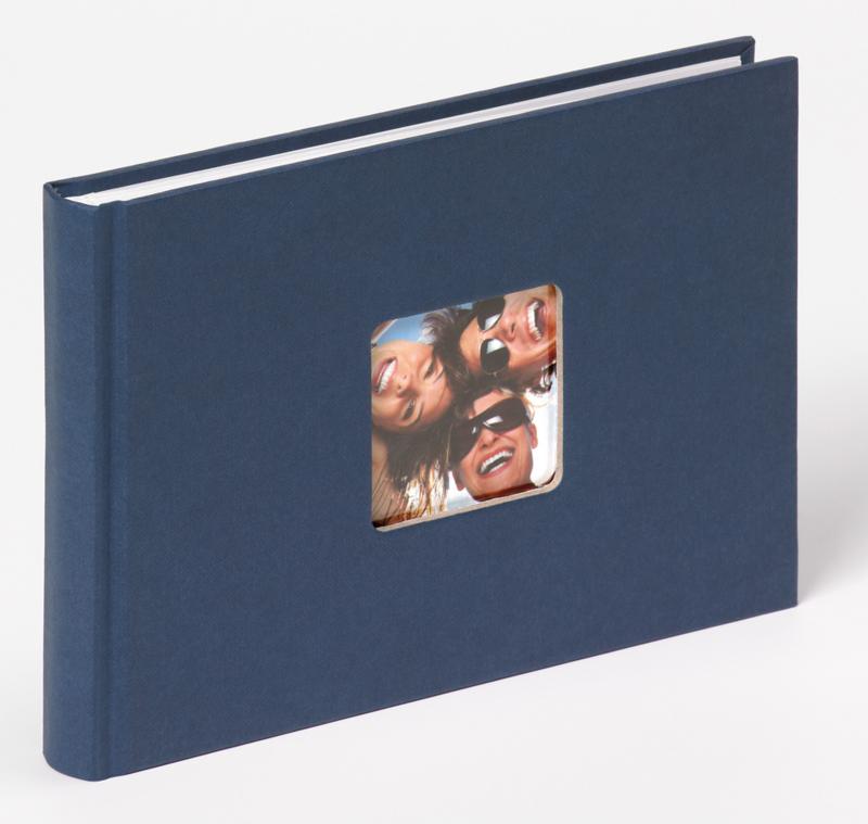 "Fotoboek ""Fun"" 22 x 16 cm, blauw 40 blz."