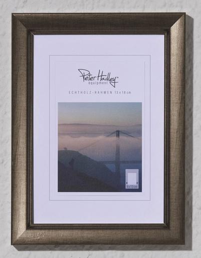 Peter Hadley Sassari 15x20  houten fotolijst antraciet