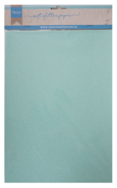 CA3147 Soft glitter paper Mint