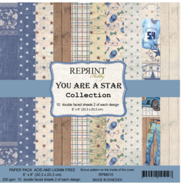 RPM010 Reprint You are a Star Collection 8x8 Inch Paper Pack