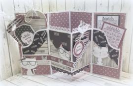 6011/0642 Paper bloc Purrfect Kitties