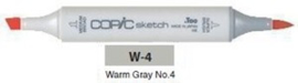 W4 Copic Sketch Marker Warm Gray no.4