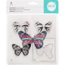 663091 We R Stamp Butterfly