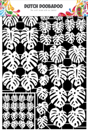 472.948.049 Laser Paper Art A5 wit Leaves